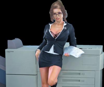 Sekretæren fikk meg til å vise meg naken – Erotisk novelle